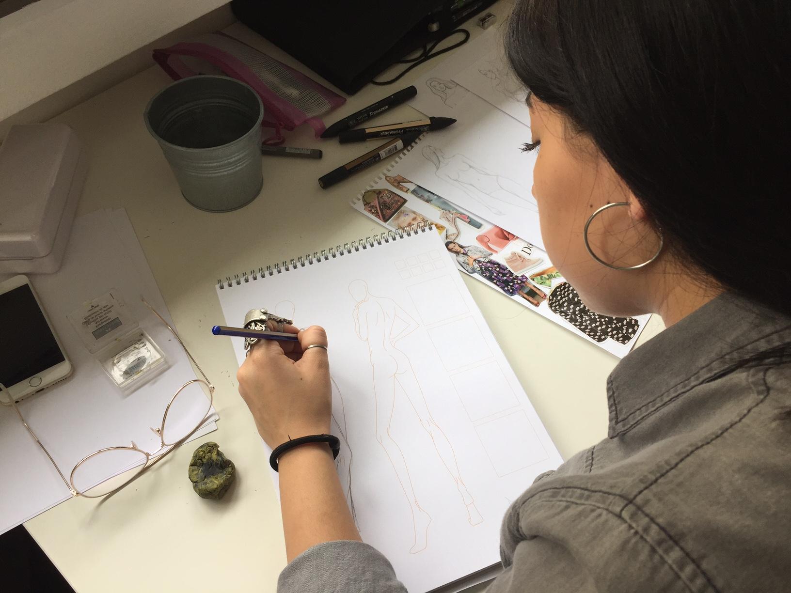 Moda Tasarımı Teknik Çizim