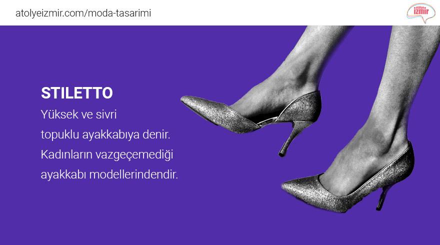 Moda Sözlüğü #Stiletto