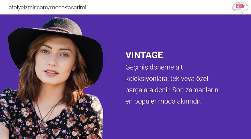 Moda Sözlüğü #Vintage