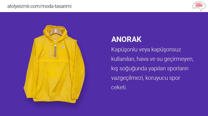 Moda Sözlüğü #Anorak