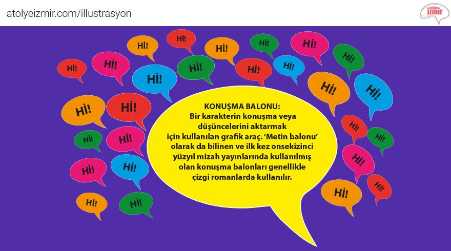 #Konuşma Balonu