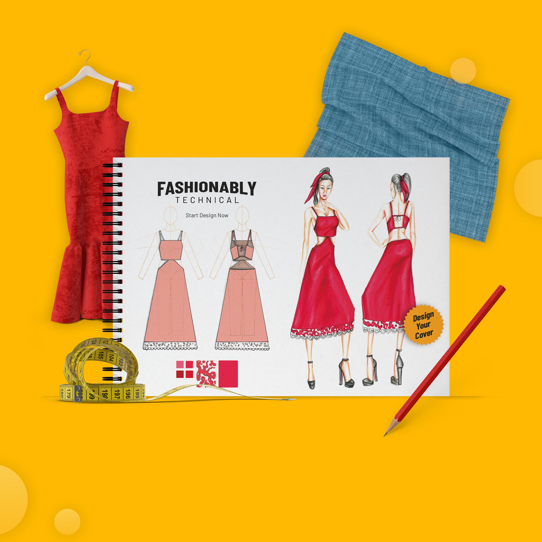 Fashionably Portfolyo Defterleri ile Tasarlamak Çok Daha Kolay